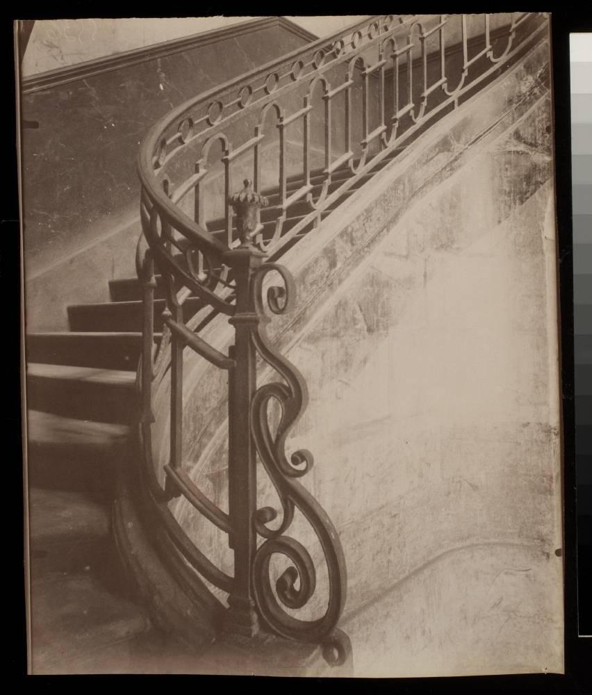 Escalier 3 Rue des Dechargeurs (1e)